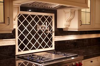 简欧风格客厅别墅豪华金色整体厨房吊顶装修
