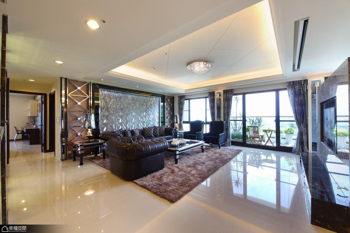 新古典风格别墅奢华客厅装修