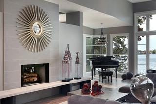 现代简约风格卧室度假别墅豪华欧式卧室大理石背景墙装修效果图