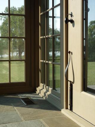 美式乡村风格客厅小清新阳台门套装修效果图