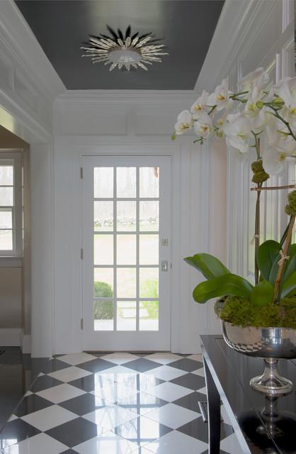 现代简欧风格欧式别墅及时尚客厅黑白卫生间门厅柜设计图