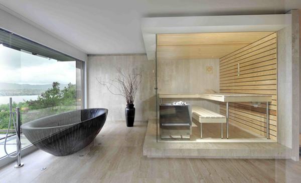 现代简约风格卧室时尚客厅家庭卫生间隔断设计图