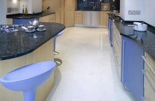 现代简约风格餐厅时尚简约客厅开放式厨房吧台效果图