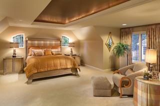 简欧风格餐厅三层别墅及欧式豪华 卧室设计图纸
