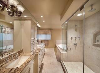 简欧风格客厅200平米别墅豪华卫生间整体卫浴效果图