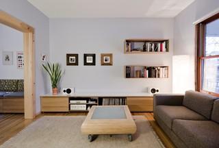 简约风格实用中式客厅电视背景墙装修图片