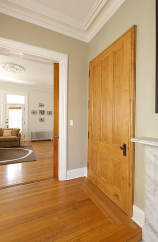现代简约风格卧室单身公寓设计图原木色家居豪华型110平米三室两厅效果图