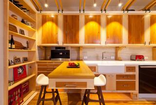 现代简约风格卧室精装公寓原木色家居豪华型110平米三室两厅装修效果图
