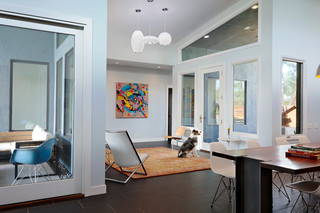 现代简约风格餐厅精装公寓10-15万120平米房子2013简欧客厅装潢