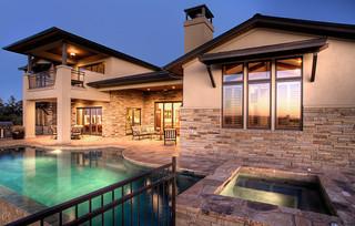 地中海风格卧室单身公寓20万以上140平米以上室内游泳池装修效果图