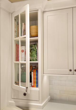 混搭风格复式公寓白色橱柜10-15万130平米装修效果图
