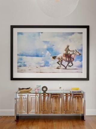 现代简约风格小型公寓10-15万120平米房屋2014客厅窗帘装修图片