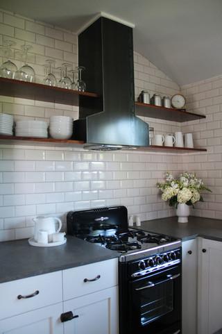 现代简约风格厨房复式公寓10-15万130平米三室两厅4平米厨房装修效果图