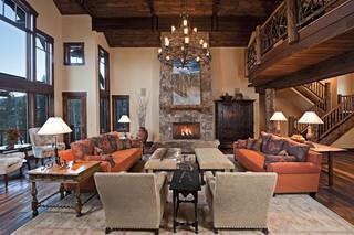 地中海风格客厅精装公寓15-20万130平米2014客厅窗帘装修