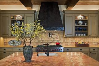 地中海风格室内小户型公寓15-20万130平米三室两厅2013整体厨房改造