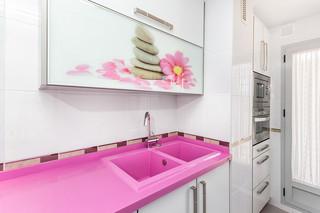 单身公寓可爱卧室豪华型70平米两室一厅洗手台效果图