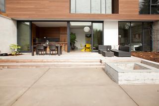 混搭风格单身公寓设计图140平米以上门厅隔断厨房过道设计