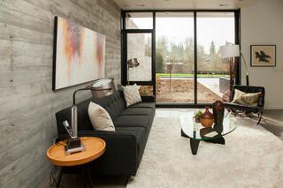 混搭风格单身公寓设计图140平米以上阳光房过道吊顶装修图片