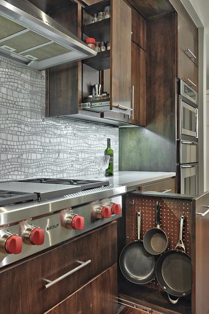 简约风格老年公寓原木色家居富裕型效果图