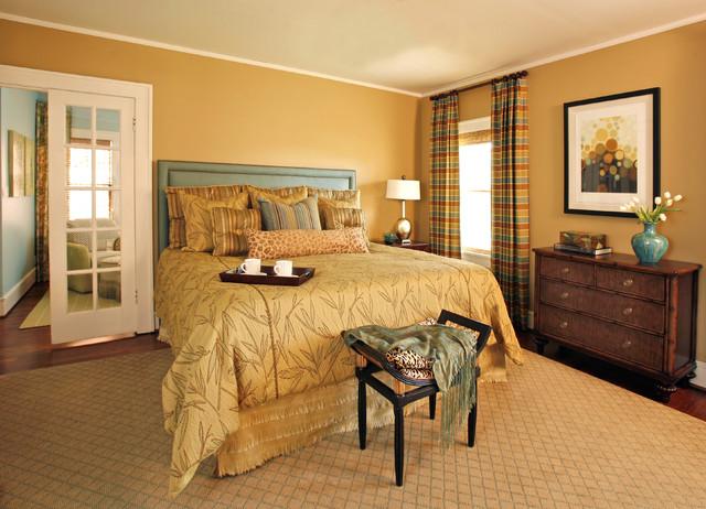 美式风格精装公寓豪华型100平米房屋2014卧室设计图