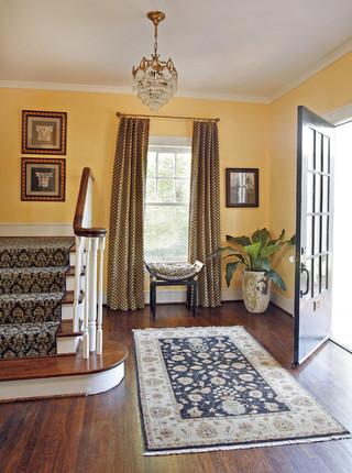 美式风格客厅loft公寓豪华型100平米的房子底楼阳光房装修