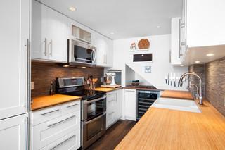 现代简约风格卧室精装公寓20万以上140平米以上4平米小厨房效果图