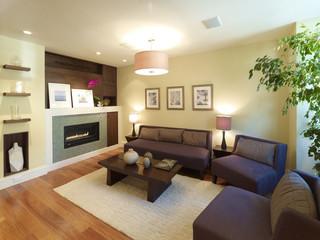 小户型公寓豪华20万以上130平米三室两厅2014客厅设计