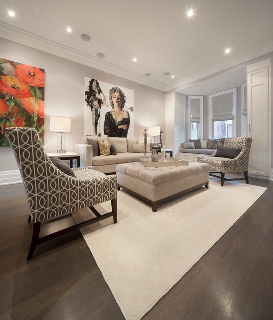 现代简约风格餐厅loft公寓140平米以上 客厅白领平面图
