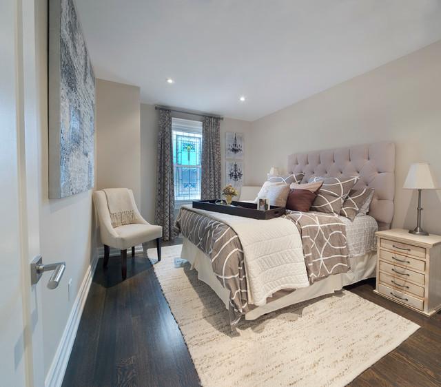 现代简约风格客厅复式公寓140平米以上 卧室白领平面图