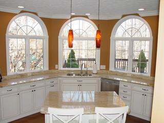 美式乡村风格单身公寓厨房10-15万170平米阳光房屋顶效果图