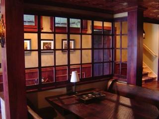 混搭风格客厅精装公寓格子120平米房屋设计图