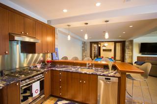 混搭风格复式公寓格子120平米房子2012简约客厅设计图纸
