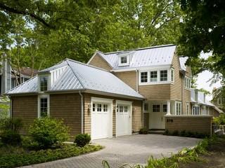 田园风格家具一层半小别墅120平米底楼阳光房装修