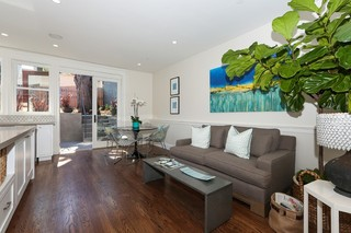 现代美式风格小公寓豪华型2013客厅窗帘设计图