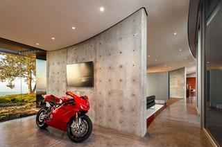 简约风格客厅富裕型140平米以上餐厅与客厅隔断装修效果图