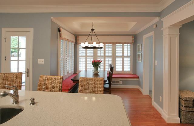 田园风格经济型140平米以上客厅过道吊顶设计