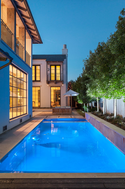 别墅游泳池效果图