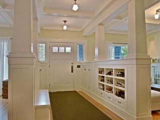 装修客厅田园风格富裕型140平米以上2012家装玄关效果图
