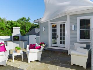 欧式简约风格50平复式140平米以上阳光房屋顶装修