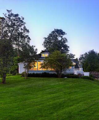 现代简约风格客厅复式住宅绿色橱柜140平米以上装修图片