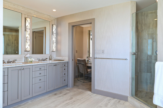 三层半别墅白色地毯豪华型设计图纸