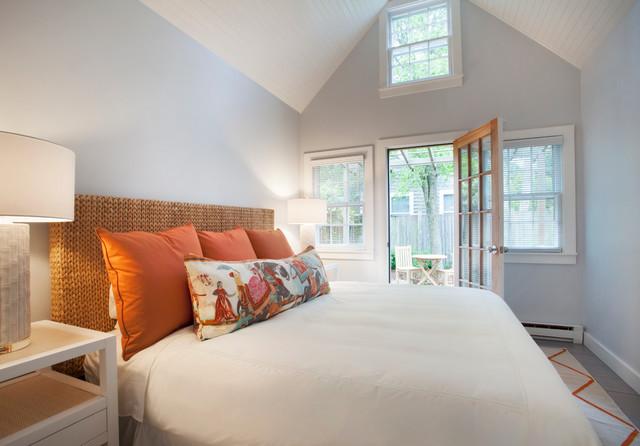 田园风格窗帘富裕型140平米以上5平米卧室装修效果图