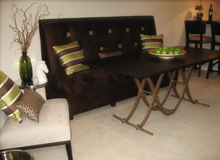 现代欧式风格富裕型140平米以上品牌贵妃沙发图片