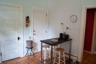现代欧式风格经济型140平米以上家庭餐桌图片
