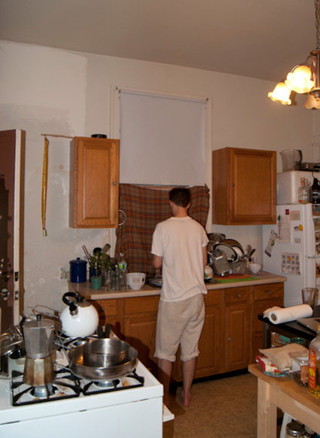 现代欧式风格经济型140平米以上整体厨房吊顶改造