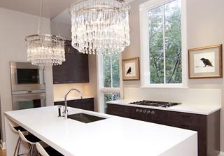 欧式风格客厅富裕型140平米以上最新水晶灯图片