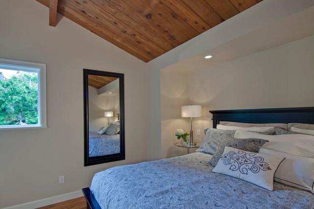 田园风格片富裕型140平米以上12平米卧室设计图纸图片