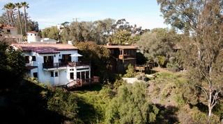 田园风格玄关三层别墅及绿色橱柜豪华型装修图片