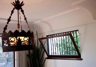 田园风格客厅2013年别墅豪华型玻璃阳光房设计