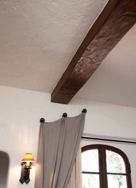 装修客厅田园风格一层半别墅白色地毯豪华型装修图片
